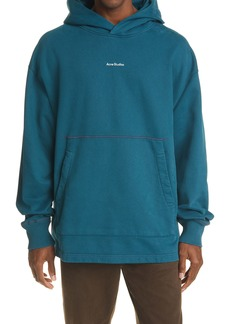 Acne Studios Franklin H Stamp Logo Organic Cotton Hoodie