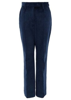 Acne Studios High-rise cotton-blend corduroy trousers