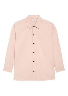 Acne Studios Houston Oversize Button-Up Shirt