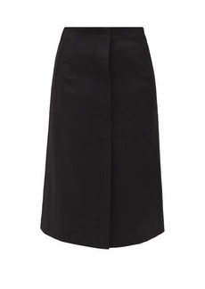 Acne Studios Ivanne high-rise buttoned skirt