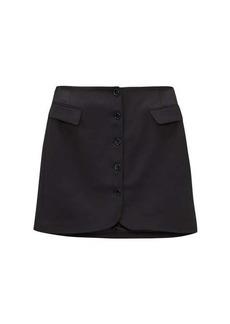 Acne Studios Ivet twill mini skirt