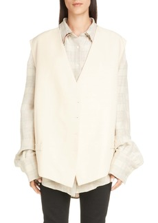 Acne Studios Jacklin Oversized Vest