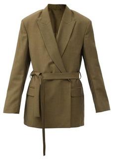 Acne Studios Jamila double-breasted wool-blend suit jacket