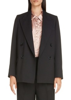 Acne Studios Janny Double Breasted Blazer