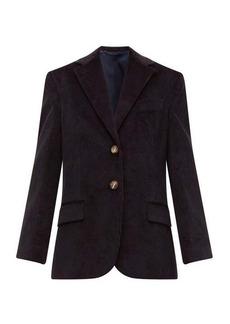 Acne Studios Jantine oversized cotton-corduroy jacket