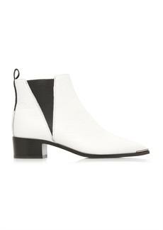 Acne Studios Jensen Grained Leather Chelsea Boots