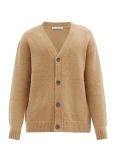 Acne Studios Kabelo rib-knitted wool-blend cardigan