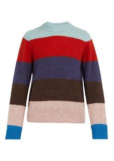 Acne Studios Kai striped crew-neck wool sweater