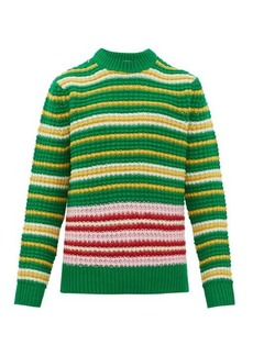 Acne Studios Kai striped wool sweater