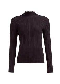 Acne Studios Kana ribbed cotton-blend top