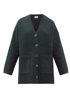 Acne Studios Kanita side-slit wool-blend cardigan