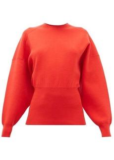 Acne Studios Kaphne blouson-sleeve slim-fit sweater