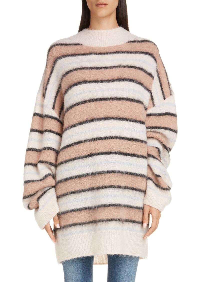 Acne Studios Karalynn Stripe Oversize Sweater