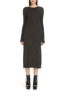 Acne Studios Kathilde Long Sleeve Midi Sweater Dress