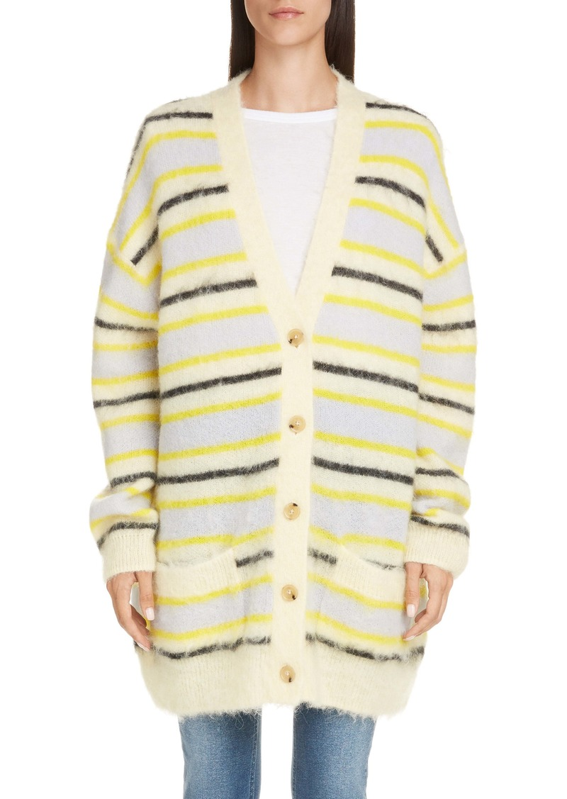 Acne Studios Keda Oversize Wool & Alpaca Blend Cardigan