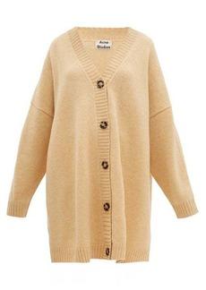 Acne Studios Kirstie dropped-shoulder wool cardigan