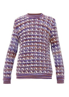 Acne Studios Kobra chevron-knit sweater