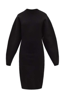 Acne Studios Krysten structured jersey dress