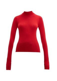 Acne Studios Kulia high-neck ribbed wool sweater