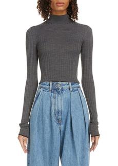 Acne Studios Kulia Ribbed Merino Wool Sweater
