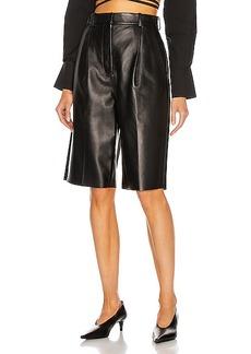 Acne Studios Leather Short
