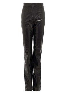 Acne Studios Leonna high-rise leather trousers