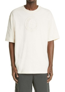 Acne Studios Logo Embroidered T-Shirt