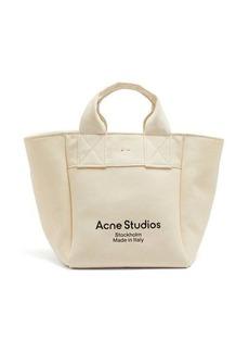 Acne Studios Alisse logo-print canvas tote bag