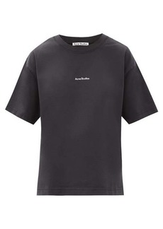 Acne Studios Edie Stamp logo-print cotton-jersey T-shirt