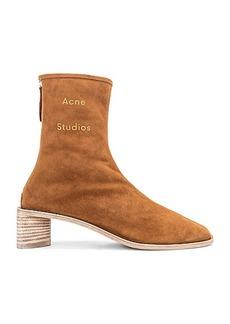 Acne Studios Logo Suede Boot