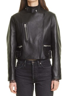 Acne Studios Lovisa Leather Jacket