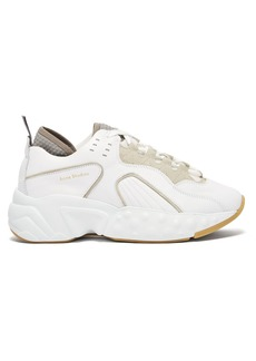 Acne Studios Manhattan leather low-top trainers