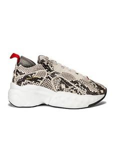 Acne Studios Manhattan Snake Sneakers