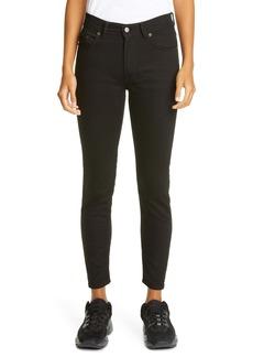 Acne Studios Melk High Waist Ankle Skinny Jeans