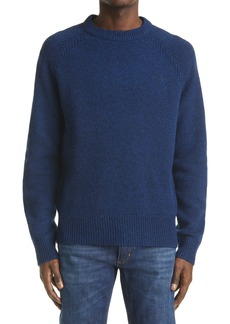 Acne Studios Men's Logo Embroidered Wool Sweater