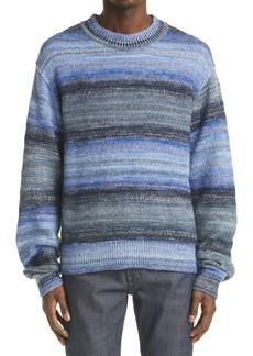 Acne Studios Men's Stripe Cotton Blend Sweater