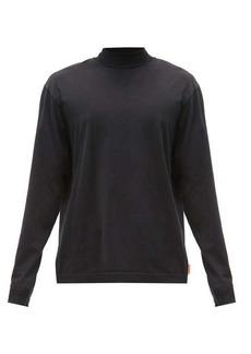 Acne Studios Mock-neck cotton-jersey top