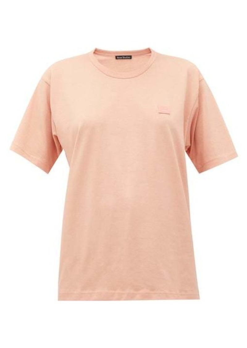 Acne Studios Nash Face cotton-jersey T-shirt