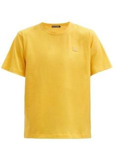 Acne Studios Nash Face logo-appliqué organic-cotton T-shirt