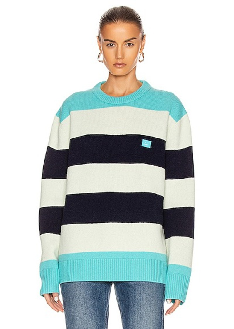 Acne Studios Nimah Block Stripe Sweater