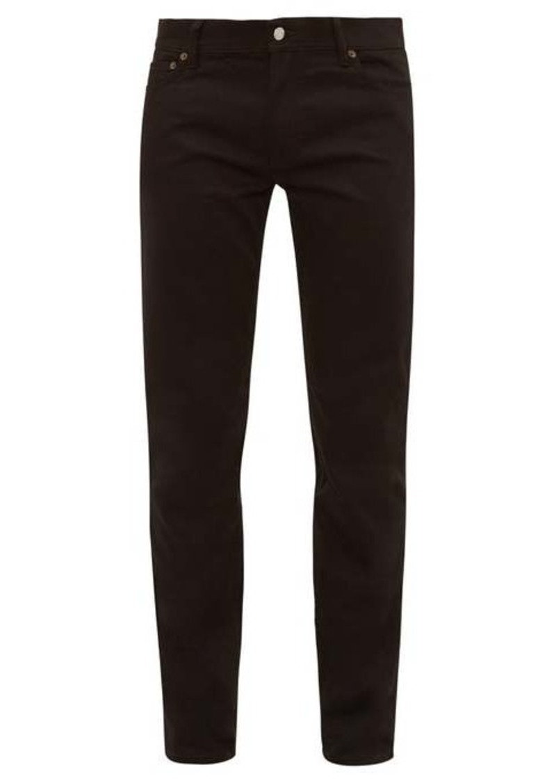 Acne Studios North mid-rise skinny-leg jeans