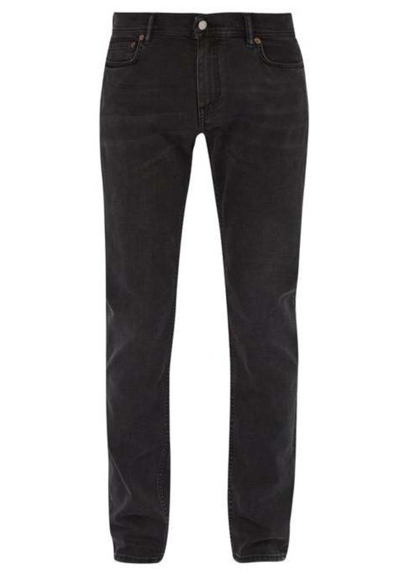 Acne Studios North slim-leg cotton-blend jeans