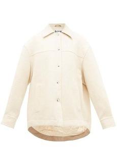 Acne Studios Ocilia cotton-blend jacket