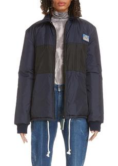 Acne Studios Odgar Face Patch Nylon Jacket (Unisex)