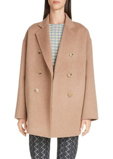 Acne Studios Odine Double Breasted Wool & Alpaca Coat