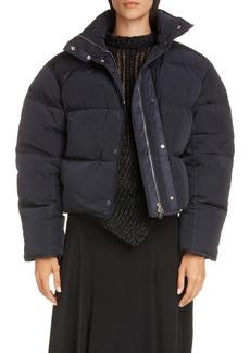 Acne Studios Oliviera Down Crop Puffer Jacket