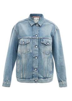 Acne Studios Oversized distressed denim jacket