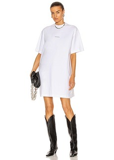 Acne Studios Oversized T-Shirt Dress
