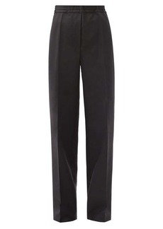 Acne Studios Pamie wide-leg wool-blend trousers
