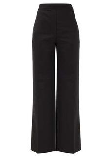 Acne Studios Pammine wool-blend straight-leg trousers